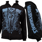 Misery Signals - Hatchet Hands (Zip Up Hoodie) [入荷予約商品]