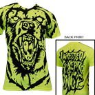 Iwrestledabearonce - Bear (All Over Print) (Neon Yellow) [入荷予約商品]