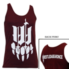 Iwrestledabearonce - Claw (Tri Cranberry) (Tank Top) [入荷予約商品]