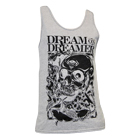 Dream On, Dreamer - Skull Key (Heather Grey) (Tank Top) [入荷予約商品]