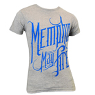 Memphis May Fire - Blue Logo (Heather Grey) [入荷予約商品]