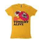 Tonight Alive - Flowers (Yellow) [girl's] [入荷予約商品]