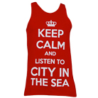 City In The Sea - Keep Calm (Red) (Tank Top) [入荷予約商品]