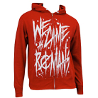 We Came As Romans - Handwritten (Red) (Zip Up Hoodie) [入荷予約商品]