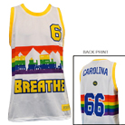 Breathe Carolina - Rainbow City Custom (Basketball Jersey) [入荷予約商品]