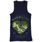 Handguns - Heart (Navy) (Tank Top) [入荷予約商品]