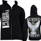 Buried In Verona - Owl (Zip Up Hoodie) [入荷予約商品]