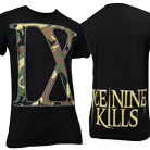 Ice Nine Kills - IX (Camo On Black) [入荷予約商品]