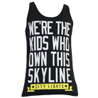 City Lights - Skyline (Tri Black) (Tank Top) [入荷予約商品]