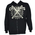 City Lights - Bats (Zip Up Hoodie) [入荷予約商品]
