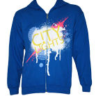 City Lights - Splatter (Royal Blue) (Zip Up Hoodie) [入荷予約商品]