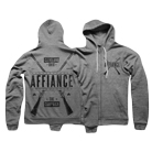 Affiance - Revolution (Heather Grey) (Zip Up Hoodie) [入荷予約商品]