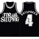 For All Those Sleeping - Logo Outspoken (Basketball Jersey) [入荷予約商品]