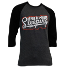 For All Those Sleeping - Logo (Athletic Heather Grey) (Baseball) [入荷予約商品]
