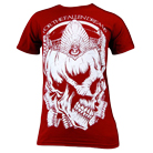 For the Fallen Dreams - Crowned Skull (Maroon) [入荷予約商品]