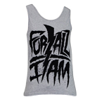 For All I Am - Bolt Logo (Heather Grey) (Tank Top) [入荷予約商品]