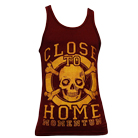 Close To Home - Skull (Maroon) (Tank Top) [入荷予約商品]
