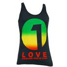 Everyone Dies In Utah - 1 Love (Charcoal) (Tank Top) [入荷予約商品]