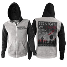 Everyone Dies In Utah - Tonight We Stand (Black/Grey) (Zip Up Hoodie) [入荷予約商品]