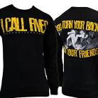 I Call Fives - Friends (Black) (Long Sleeve) [入荷予約商品]