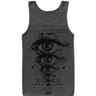 Life On Repeat - Eyes (Charcoal) (Tank Top) [入荷予約商品]