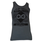 Life On Repeat - Infinity Plus (Charcoal) (Tank Top) [入荷予約商品]
