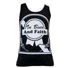 In Fear And Faith - In Beer & Faith (Black) (Tank Top) [入荷予約商品]