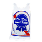 In Fear And Faith - Beer & Faith (Tank Top) [入荷予約商品]