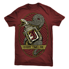 Every Time I Die - Snake (Maroon) [入荷予約商品]