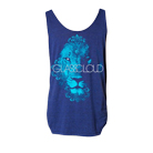 Glass Cloud - Lion (Tri Blue) (Tank Top) [入荷予約商品]