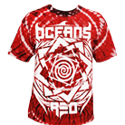 Oceans Red - Logo Spider Crimson (Tie Dye) [入荷予約商品]