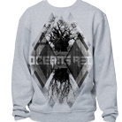 Oceans Red - Trees (Heather Grey) (Sweat) [入荷予約商品]