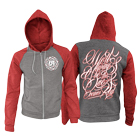 Oceans Red - We'll Always Be The One (Heather/Red) (Zip Up Hoodie) [入荷予約商品]