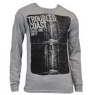 Troubled Coast - Highway (Heather Grey) (Long Sleeve) [入荷予約商品]