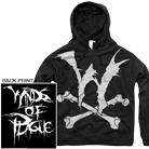 Winds Of Plague - W and Bones (Hoodie) [入荷予約商品]