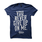 William Beckett - You Never Give Up On Me (Navy) [入荷予約商品]