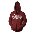 William Beckett - Logo (Maroon) (Zip Up Hoodie) [入荷予約商品]