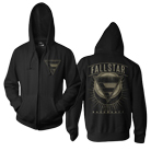 Fallstar - Backdraft (Zip Up Hoodie) [入荷予約商品]