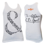 Of Mice & Men - Faithfulness (White) (Tank Top) [入荷予約商品]