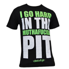 Mosh It Up Clothing - I Go Hard Green Font [入荷予約商品]