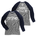 Get Scared - Logo (Heather Grey/Navy) (Baseball) [入荷予約商品]