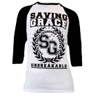 Saving Grace - Crest (Baseball) [入荷予約商品]