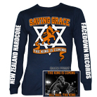 Saving Grace - All Hail The King (Navy) (Long Sleeve) [入荷予約商品]