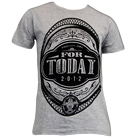 For Today - Oval Crest (Heather Grey) [入荷予約商品]