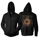 Misery Signals - Absent Light (Black) (Zip Up Hoodie) [入荷予約商品]