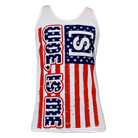 Woe, Is Me - American Flag (Tank Top) [入荷予約商品]
