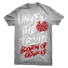Born Of Osiris - Unveil the Truth (Heater Grey) [入荷予約商品]