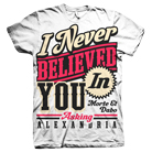 Asking Alexandria - Never Believed In You [入荷予約商品]