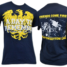 A Day To Remember - My Friends Come First (Navy) [入荷予約商品]
