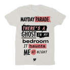 Mayday Parade - Ghosts Lyric (White) [girl's] [入荷予約商品]